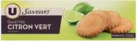 Galettes au citron vert - Produit - fr