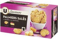 Palmiers salés fromage - Produit - fr