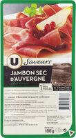 Jambon IGP d'Auvergne - Product - fr