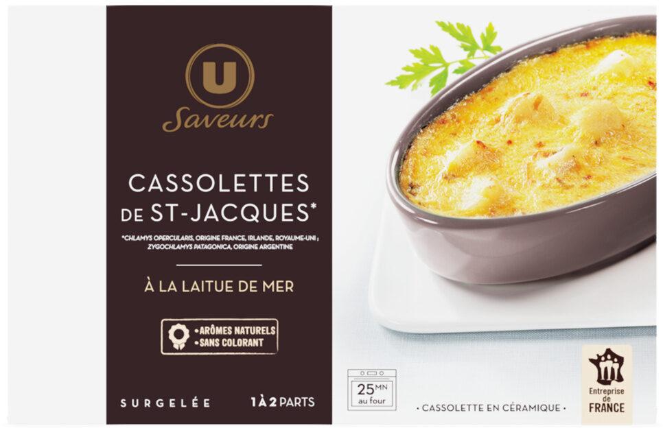 Cassolette de Saint Jacques - Produit