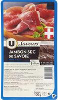 Jambon de Savoie Saveurs - Product - fr