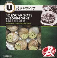 Escargots de Bourgogne Label Rouge Saveur - Product - fr
