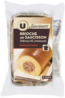 Brioche au Saucisson Spécialité Lyonnaise - Produit