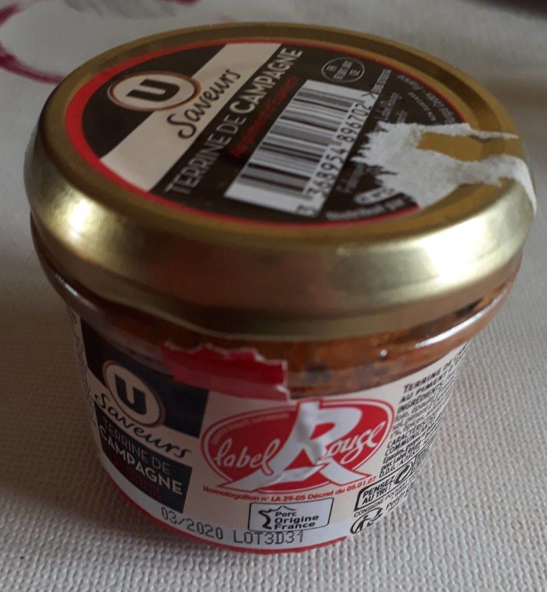 Terrine de campagne au piment d'Espelette - Product - fr