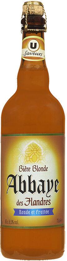 Bière blonde d'Abbaye des Flandres 6,5° - Produit