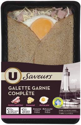 Galette garnie complète - Product - fr