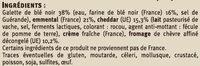 Galette garnie complète - Ingredients - fr