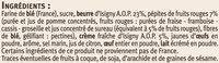 Fins sablés saveur fruits rouges - Ingredients - fr