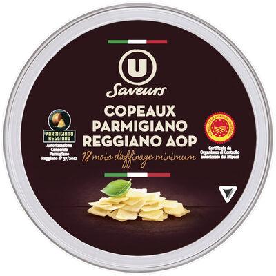Copeaux de Parmigiano Reggiano AOP lait cru 30%mg - Prodotto - fr