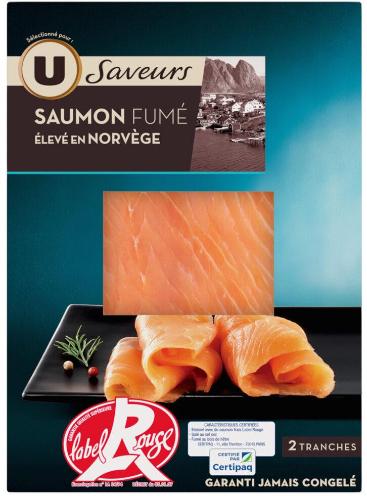 Saumon fumé de Norvège Label Rouge - Produit - fr