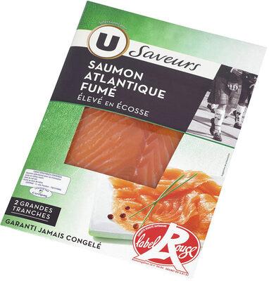 Saumon fumé d'Ecosse Label Rouge - Product