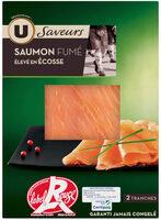 Saumon fumé d'Ecosse Label Rouge - Produit - fr