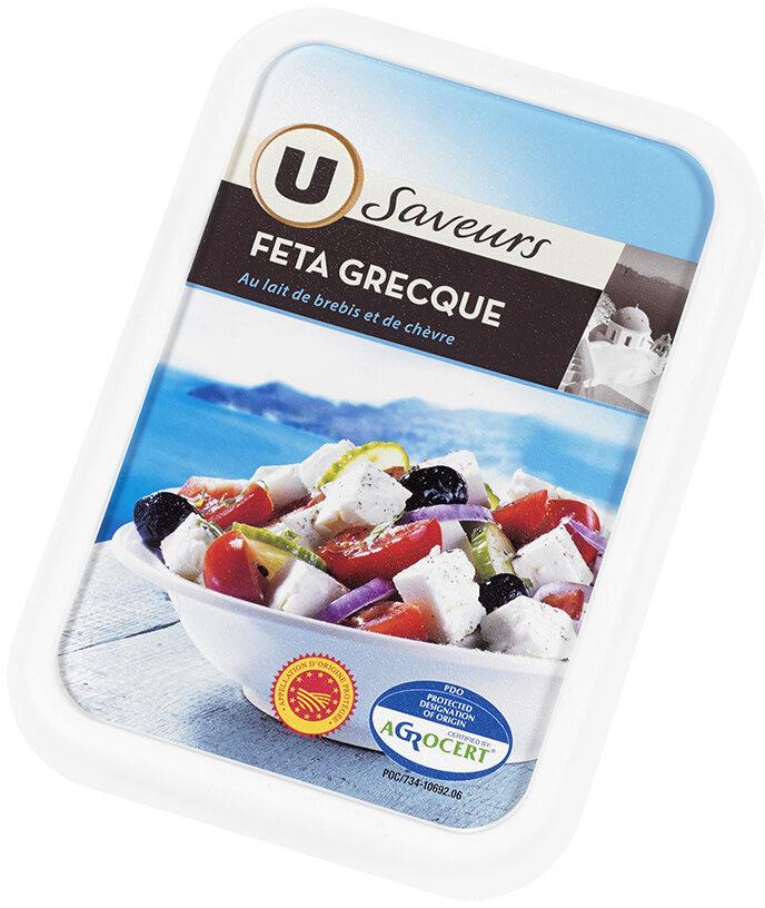 Féta grecque AOP au lait de brebis pasteurisé 2% de MG - Produit