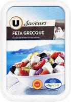Féta grecque AOP au lait de brebis pasteurisé 2%mg - Produit - fr