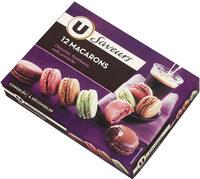 Macarons framboise, café, pistache et chocolat - Product