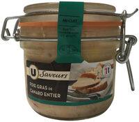 Foie gras entier Saveurs - Product - fr