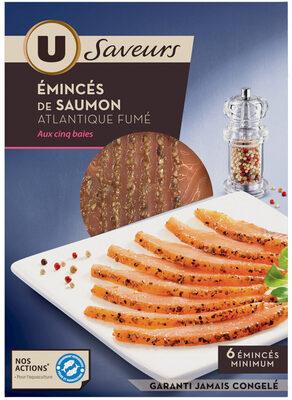 Emincés de saumon aux 5 baies - Product - fr