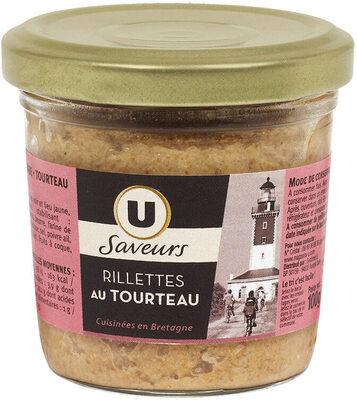 Rillettes de tourteaU_SAVEURS - Product - fr