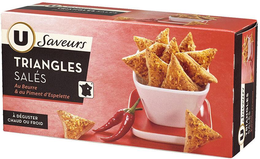 Triangles au piment d'Espelette - Produit