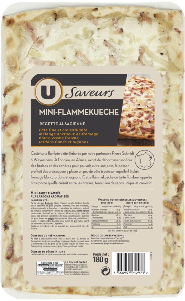 Flammekueche recette alsacienne - Produit