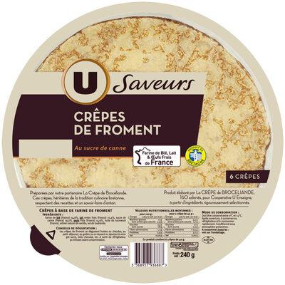 Crêpes de froment Saveurs - Produit - fr