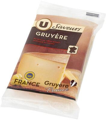 Gruyere IGP au lait cru 32% de MG - Produit - fr