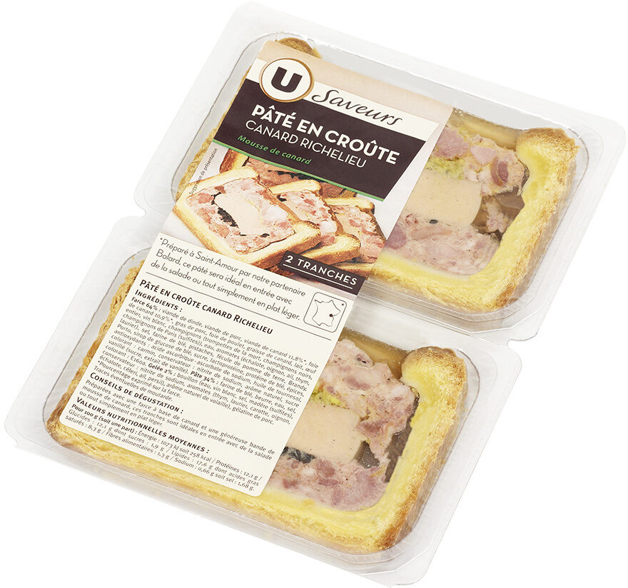 Pâtés en Croûte Canard Richelieu - Product - fr