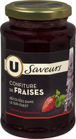 Confiture de fraises récoltées dans le Sud-Ouest Saveurs - Product - fr