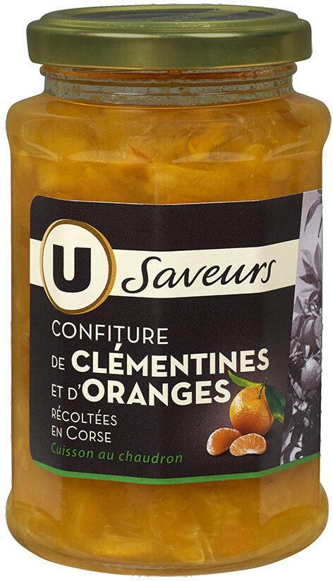 Confiture de clémentine et d'orange récoltées en Corse - Product - fr