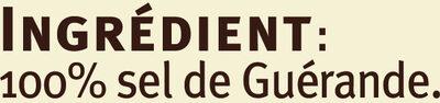 Gros sel De Guerande Saveurs - Ingrédients - fr