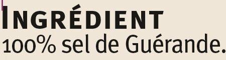 Sel moulu De Guerande - Ingredients - fr