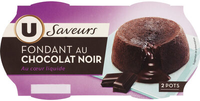 Fondant au chocolat noir - Product - fr