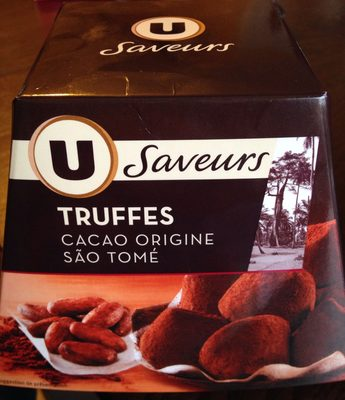 Truffes cacao origine São Tomé - Product