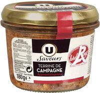 Terrine campagne au piment Espelette Label Rouge - Product