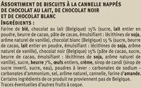Spéculoos aux 3 chocolats - Ingredients - fr