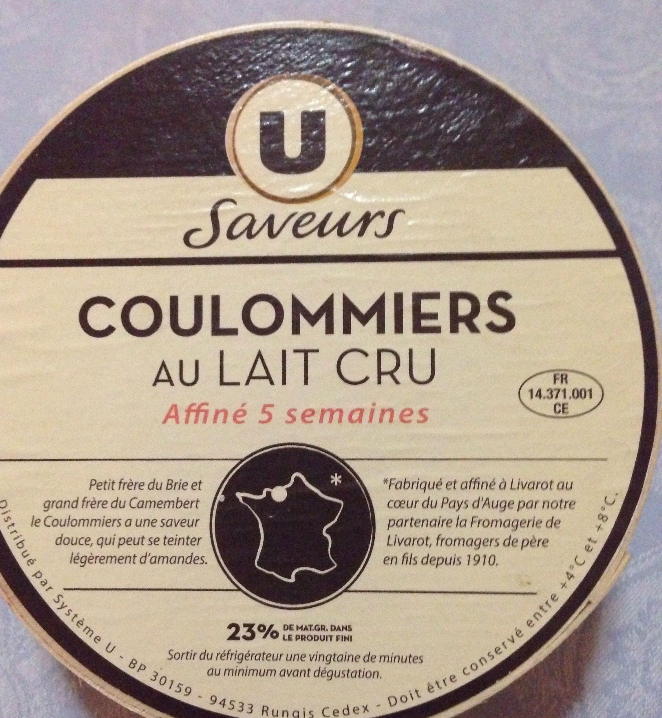 Coulommiers au lait cru - Product - fr