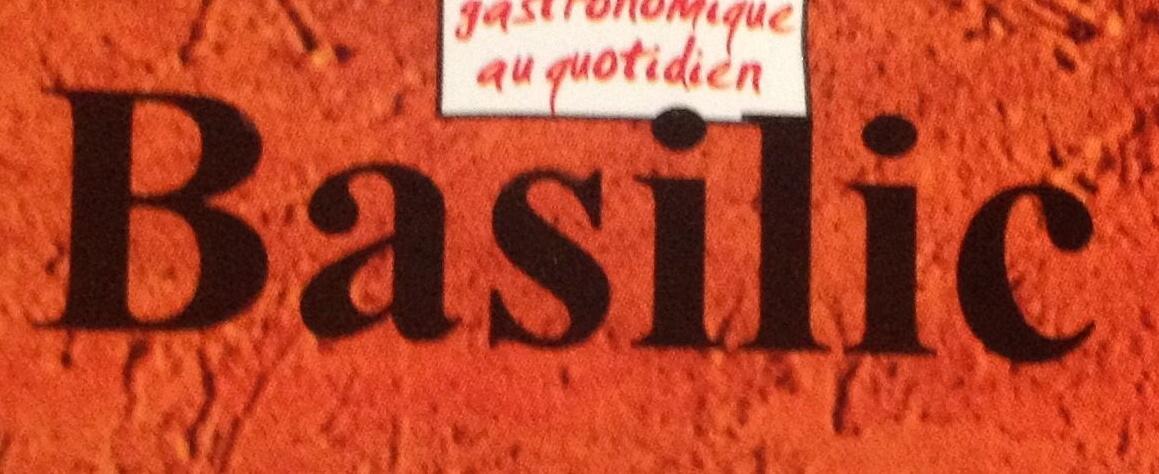 Basilic - Ingrediënten