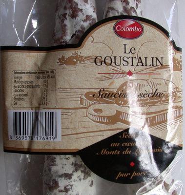 Le Goustalin - Saucisse sèche - Produit