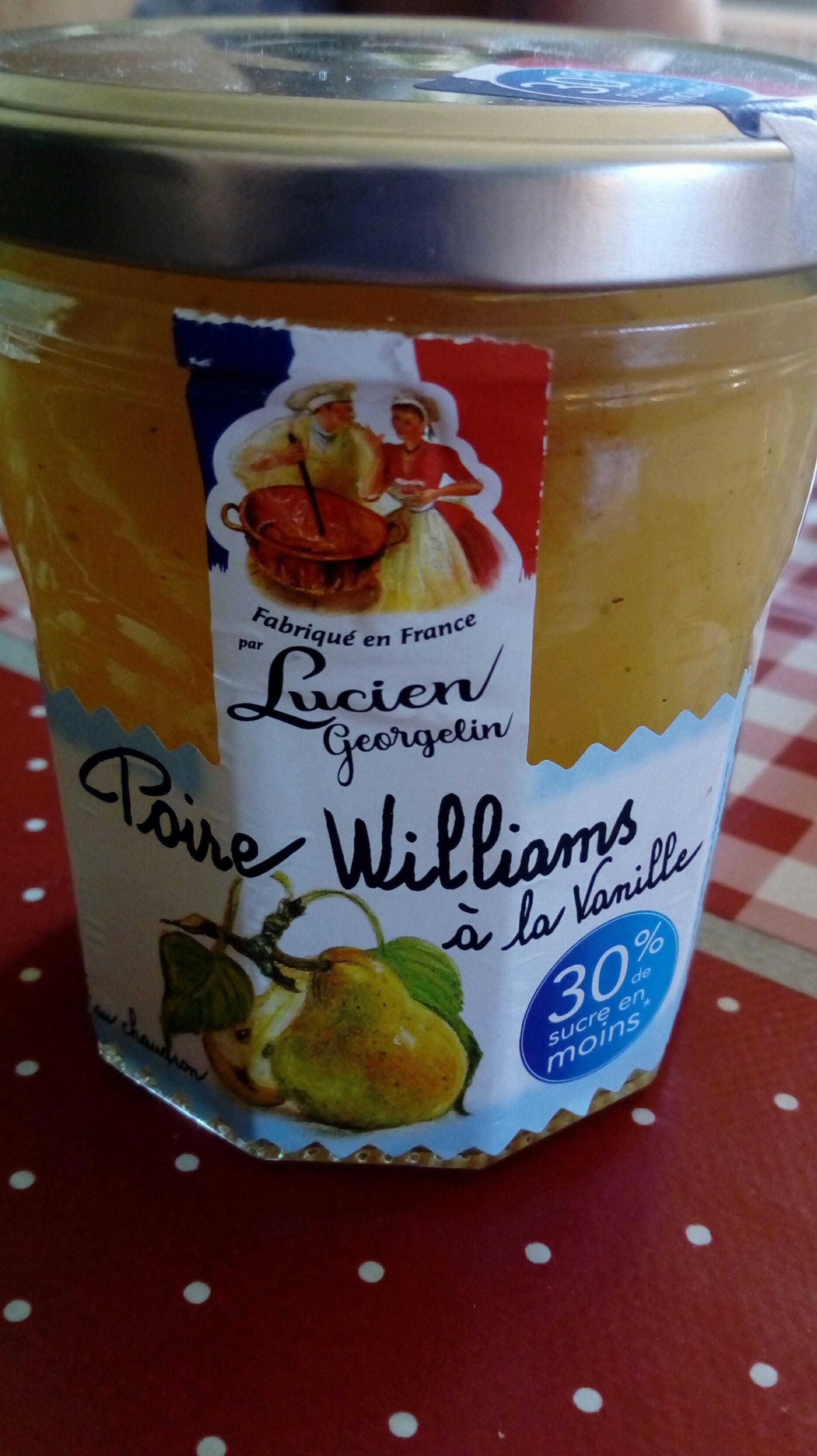confiture Poire William à la vanille. - Product