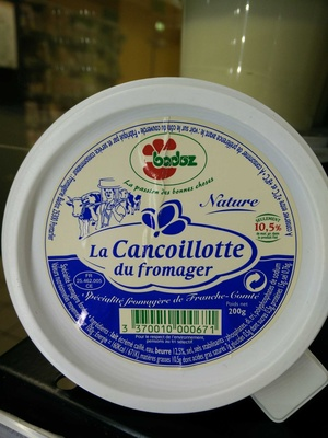 Cancoillote du fromager - Product