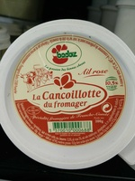 Cancoillotte du Fromager A l'Ail Rose  200g - Product - en