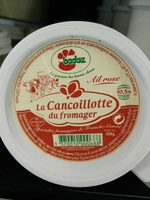 Cancoillotte du Fromager A l'Ail Rose  200g - Ingredients - fr