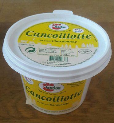 Cancoillotte vin blanc Chardonnay - Product - fr
