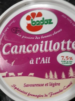 Cancoillote à l'ail - Product