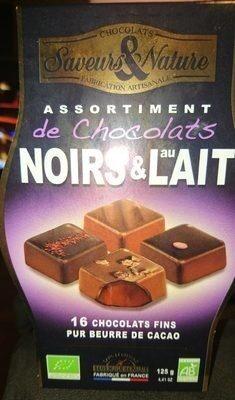 Chocolats noirs et au lait - Product - fr
