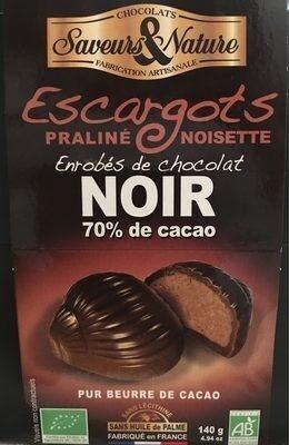 Ballotin Escargot Choc Noir - Product - fr
