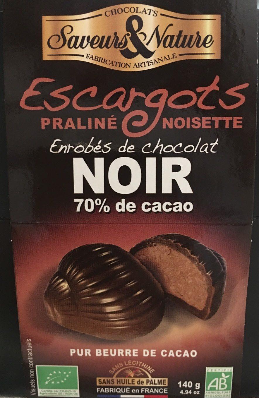 Ballotin Escargot Choc Noir - Produit - fr