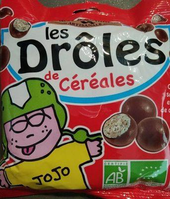 Drole De Billes Cereales Choc Lait - Produit