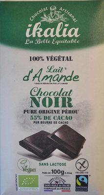 Dark chocolate almond milk - Producto - en