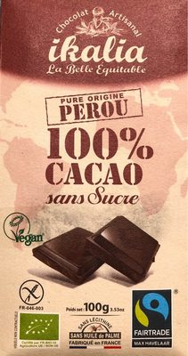 La belle équitable - 100% Cacao noir - Prodotto - fr